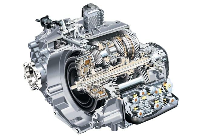 La transmisión automática DSG combina elementos de transmisiones automáticas y manuales.