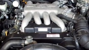 VH45DE especificaciones y revisión, datos de servicio Nissan VH45DE