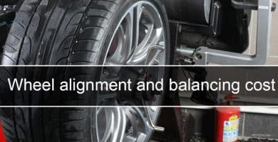 Wheel alignment and balancing cost for vehicles scaled Costo de alineación y balanceo de ruedas en EE. UU., Reino Unido y Canadá - AutoVfix.com