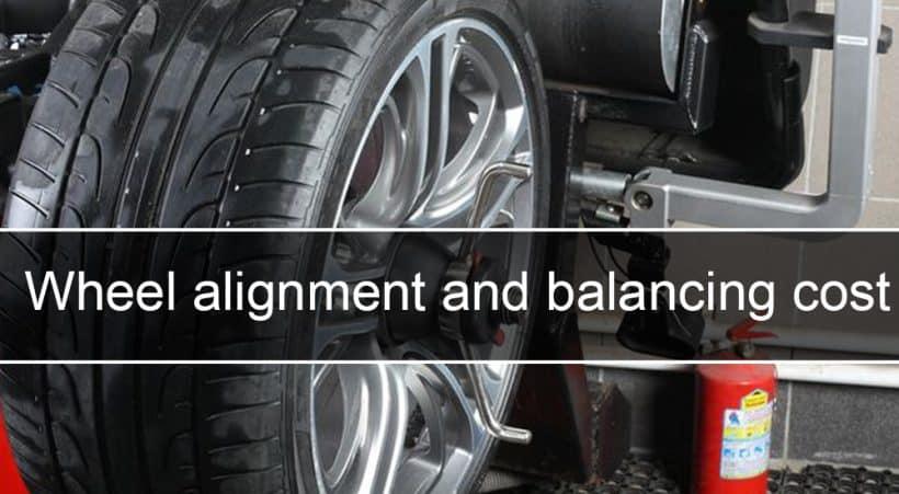 Wheel alignment and balancing cost for vehicles scaled Costo de alineación y balanceo de ruedas en EE. UU., Reino Unido y Canadá - AutoVfix.com