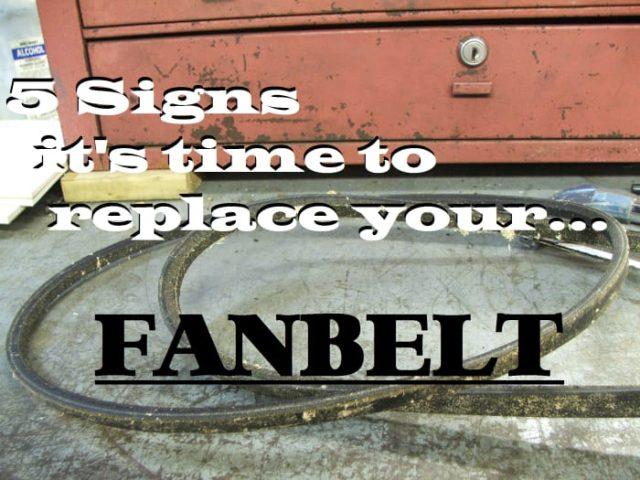 Cinq signes qu'il est temps de remplacer votre courroie de ventilateur