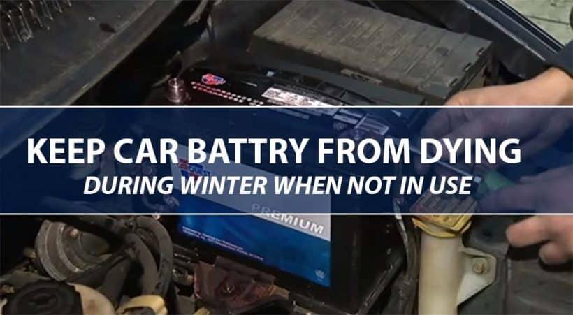 how to keep car battery from dying when not in use in Cold Weather scaled Cómo evitar que la batería del automóvil se agote cuando no esté en uso en climas fríos - AutoVfix.com