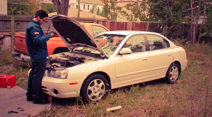 The vapor lock can prevent your engine from starting.