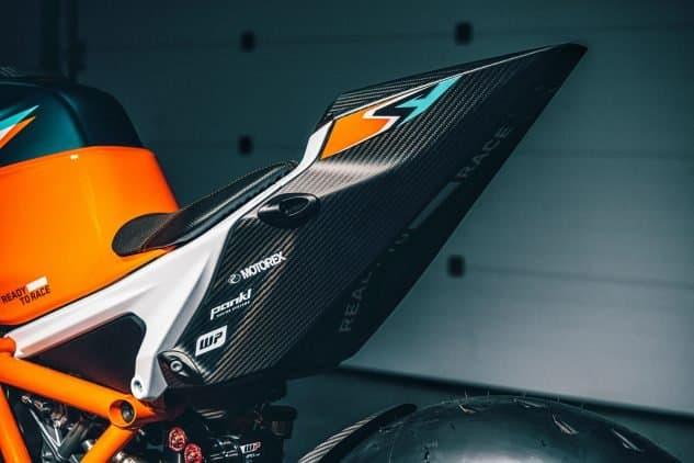 Nueva edición limitada 2021 KTM 1290 Super Duke RR