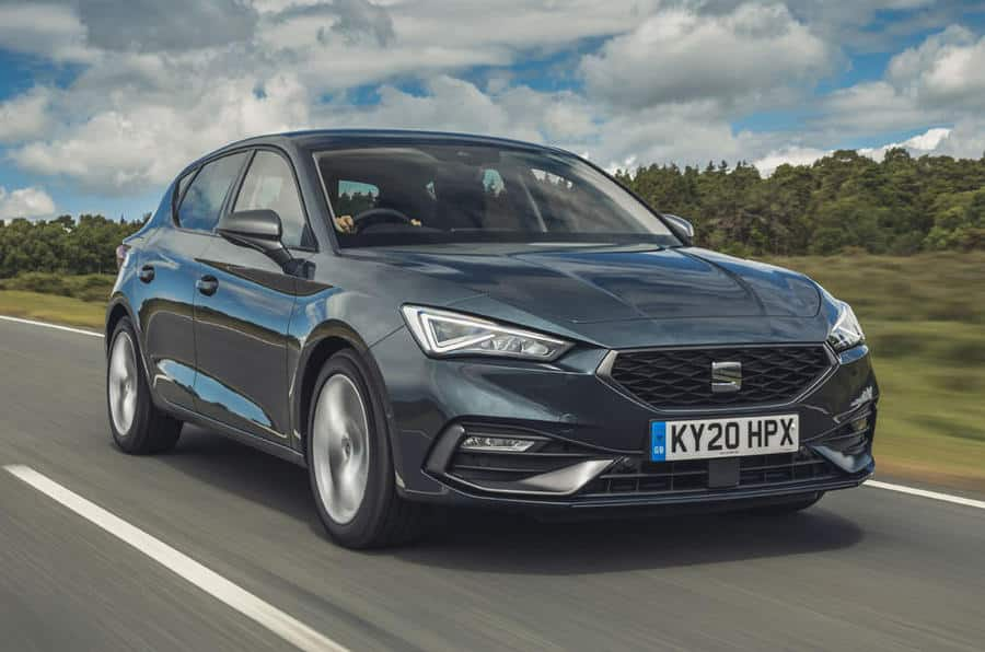 1 seat leon ehybrid fr 2020 uk firstdrive hero front Los 10 mejores hatchbacks híbridos enchufables de 2021