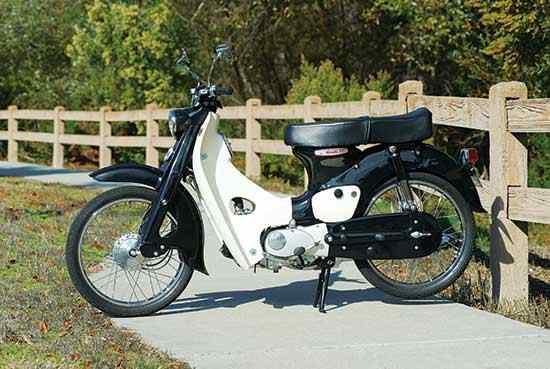 1963 CA100 Super Club Las cinco mejores motocicletas Honda de los años 60