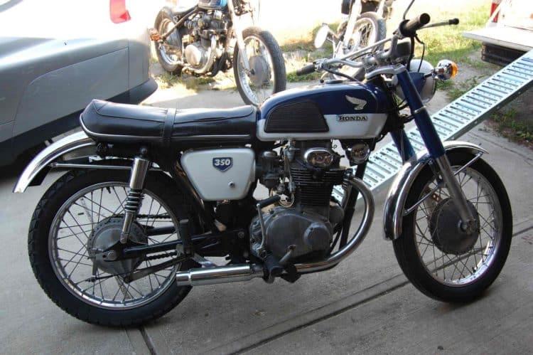 1968 CB350K0 Las cinco mejores motocicletas Honda de los años 60