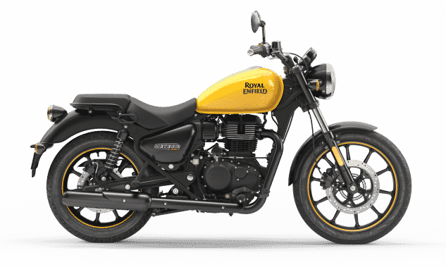 Copy of Copy of Meteor Fireball Yellow Side1 2021 Royal Enfield Meteor 350