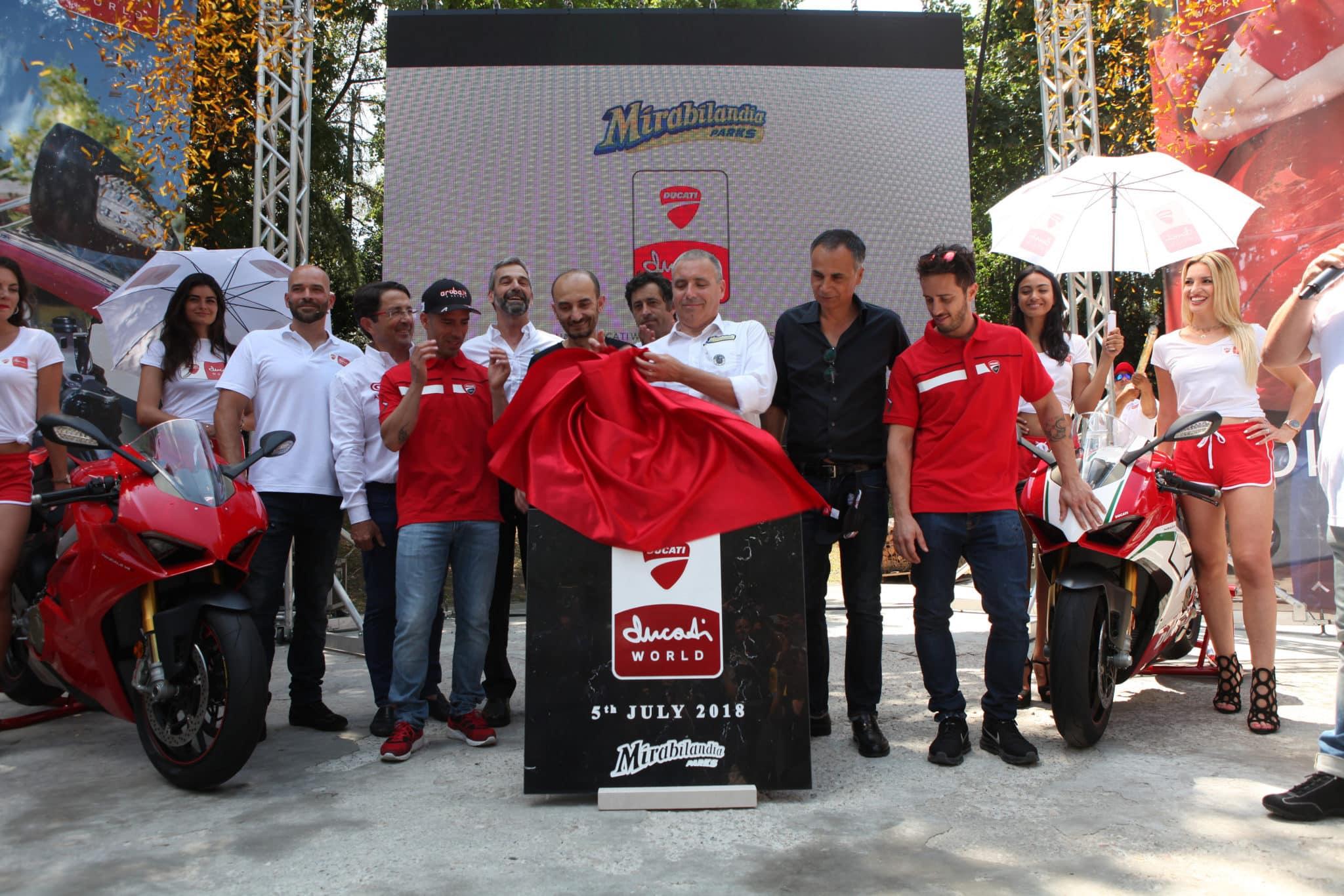 Ducati Mirabilandia Rollercoaster 2 La construcción del parque temático Ducati World ha comenzado