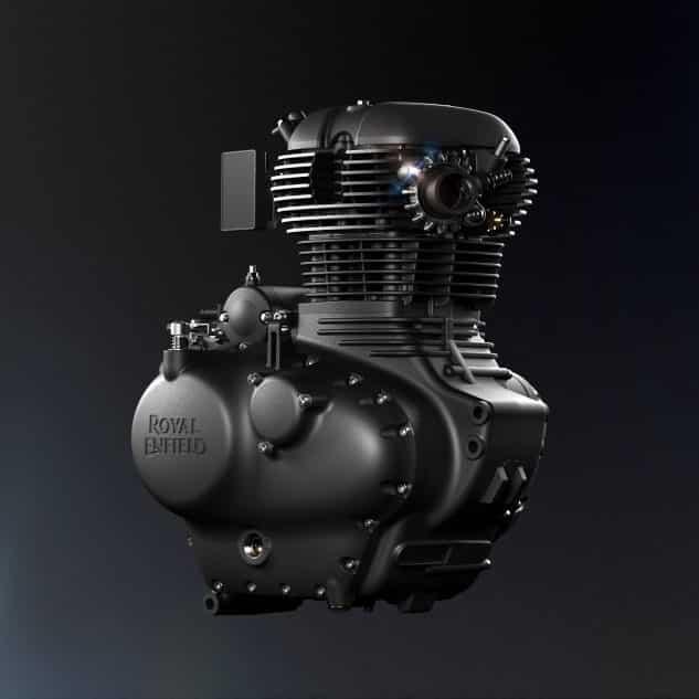 Engine SingleRHS 2021 Royal Enfield Meteor 350
