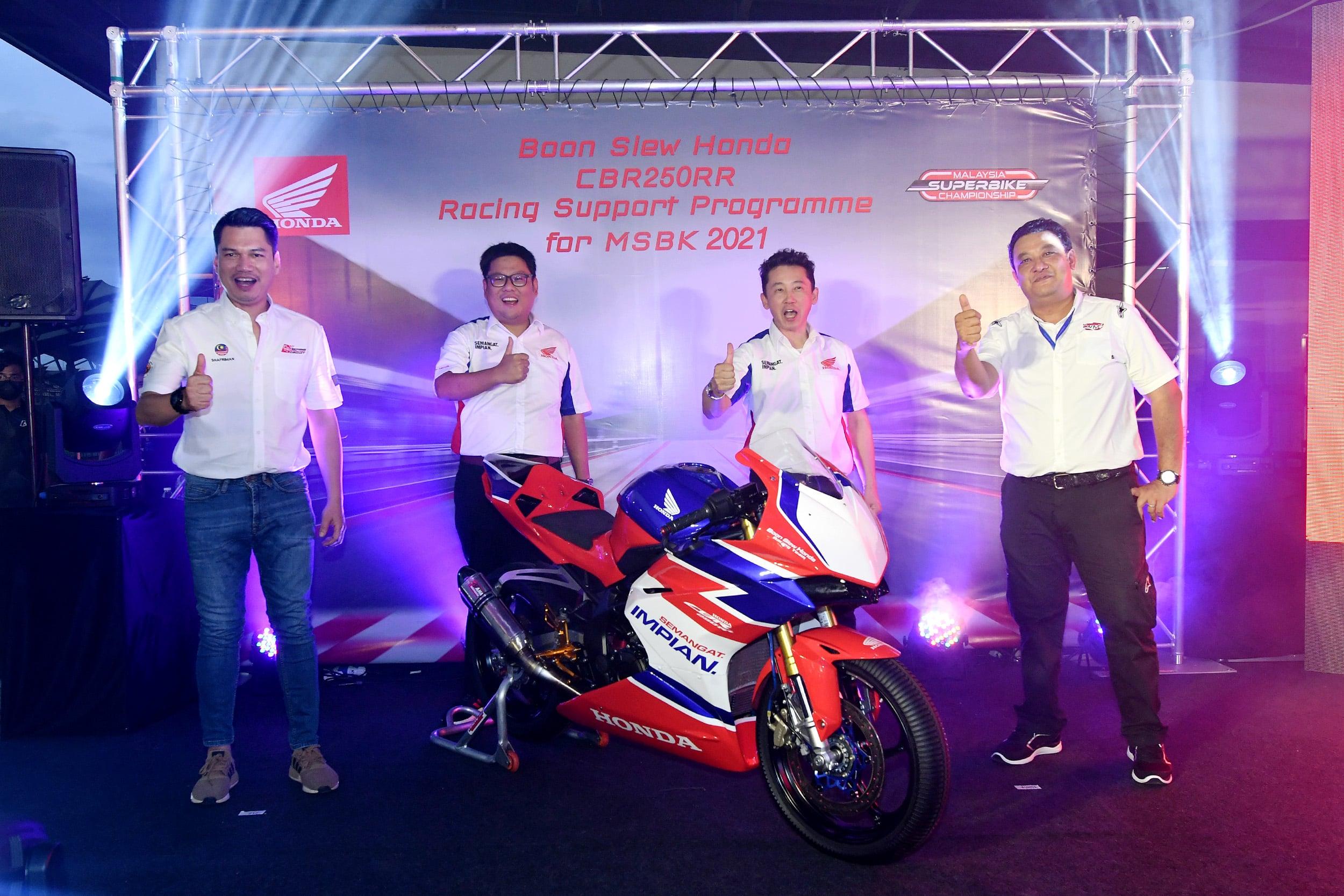 Honda NR5 5652 Ahora puede comprar Race Spec Honda CBR250RR en Malasia