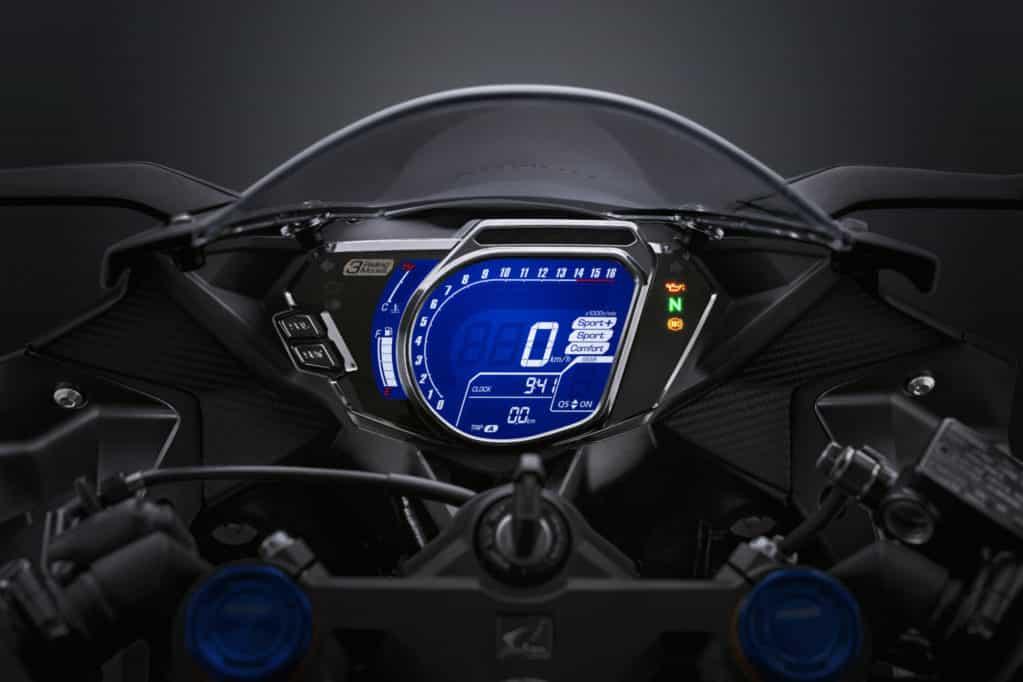Meter e1608298448859 Honda CBR250RR lanzada oficialmente en Malasia