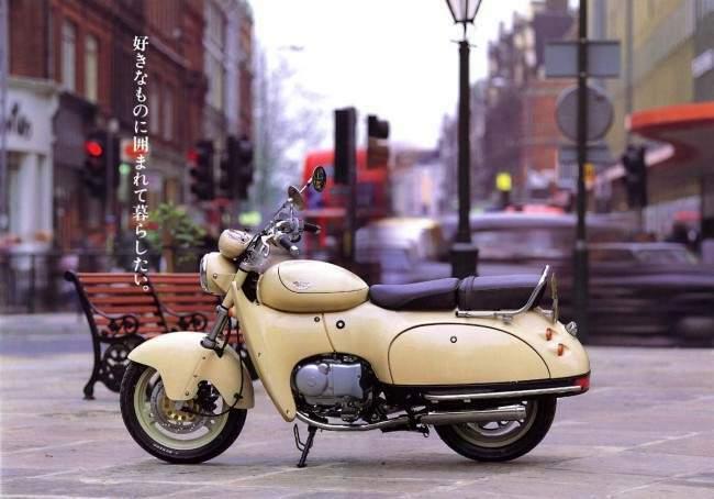"""Suzuki SW1 1 Honda Super Cub personalizado """"King Cubra"""" de Japón"""