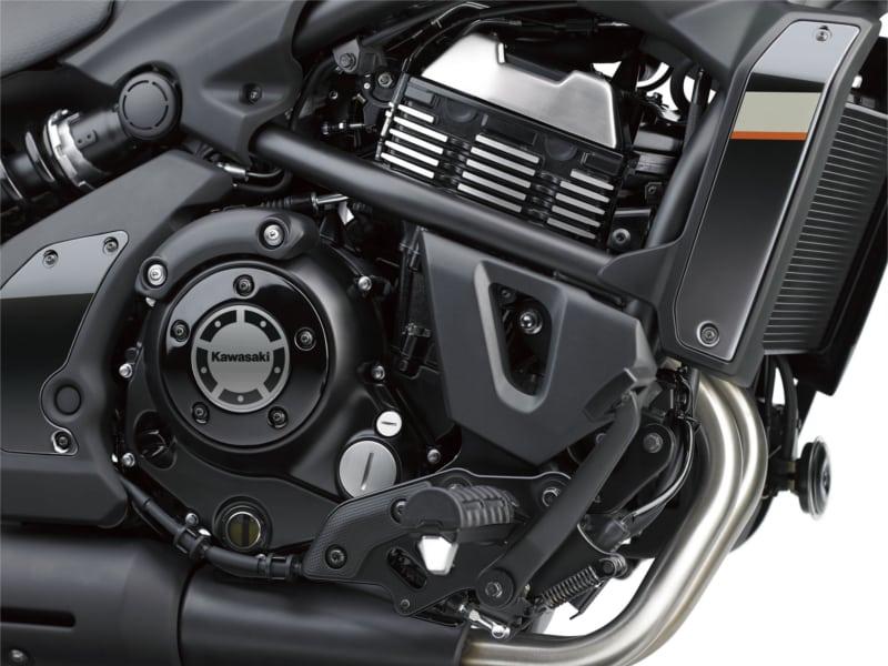Vulcan S 4 Echa un vistazo a la estética de la belleza negra Kawasaki Vulcan S