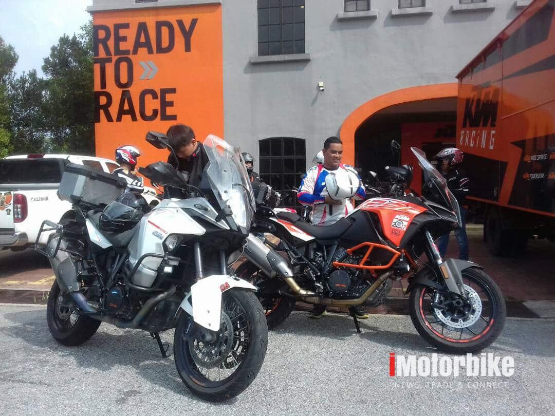PASEO EN moto KTM / CA: Día de KaTooMs en Genting - iMotormotocicleta News