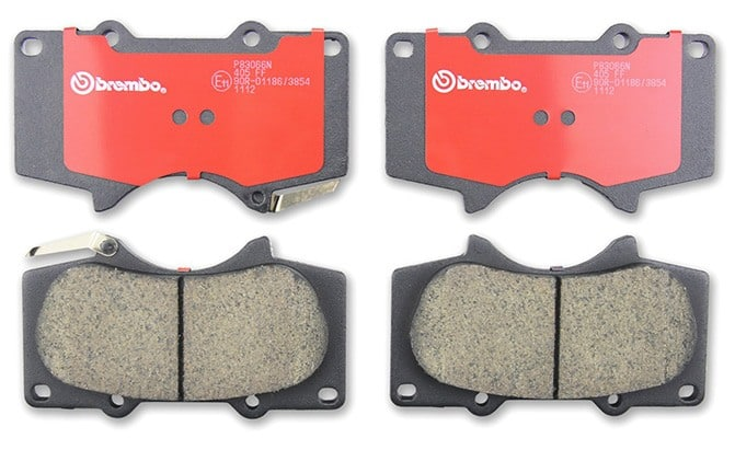 Brembo P83066N Front Disc Brake Pads