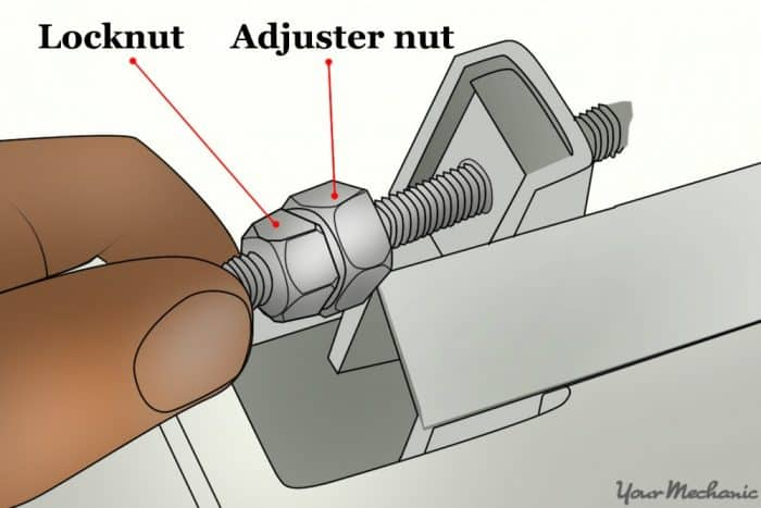 clutch cable and clutch lever shown