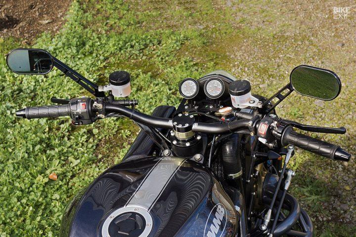 motorcycle with subaru car engine 6 ¡Conoce a Madboxer, una motocicleta personalizada con un motor de automóvil Subaru WRX!