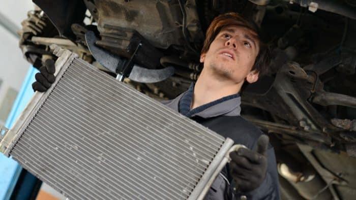 prix de remplacement du radiateur