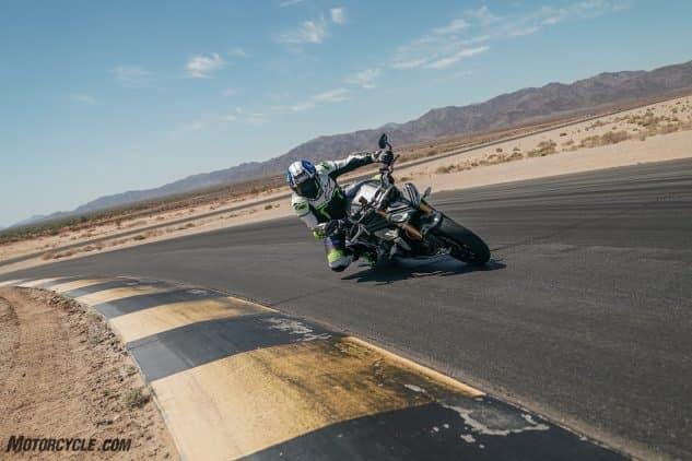 Informe de prueba 2022 Triumph Speed Triple 1200 RS