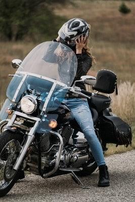 Woman Biker small