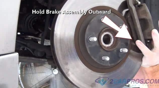 holding brake assembly