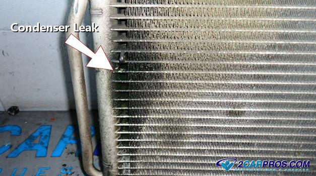 Condensador de CA 5432 con fugas