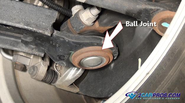 lower ball joint 411