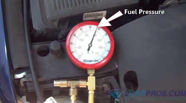 presión de combustible correcta 34