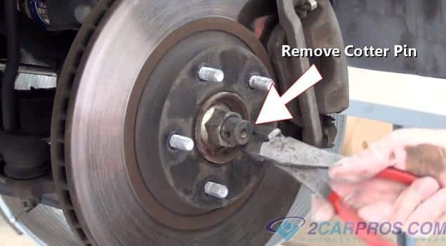 removing cotter pin