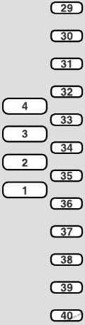 Diagrama de circuito de la caja de fusibles (en la trampilla del piso): Fiat Ulysse II (2003, 2004, 2005, 2006, 2007, 2008, 2009, 2010)