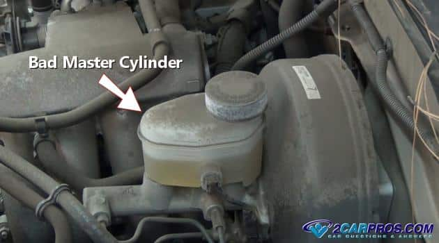 cilindro maestro defectuoso