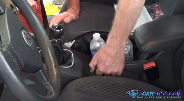 checking the parking brake lever