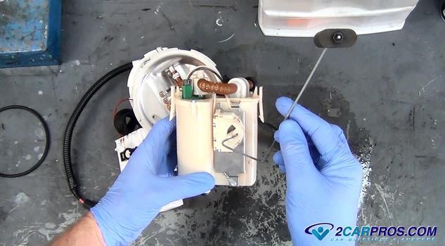 Flotador del indicador de combustible