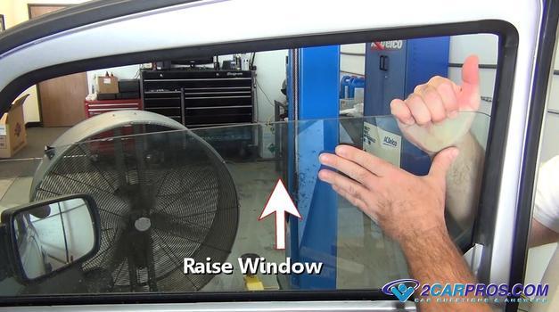raise window 543