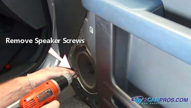 remove speaker screws 42