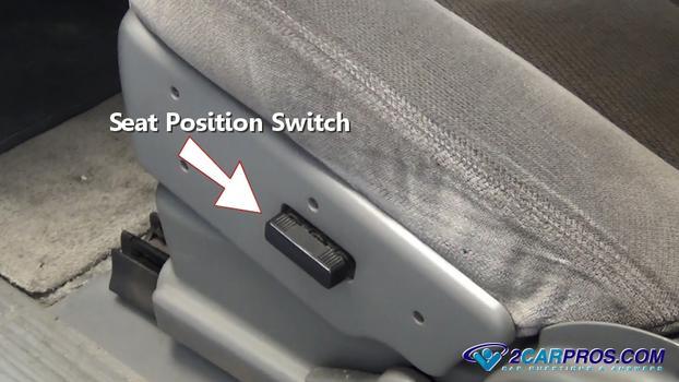 Interruptor de posición del asiento