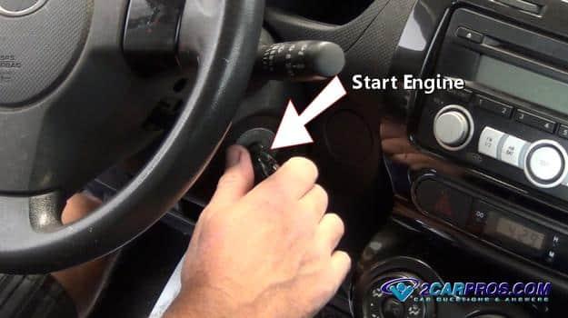 Arranque el motor 12