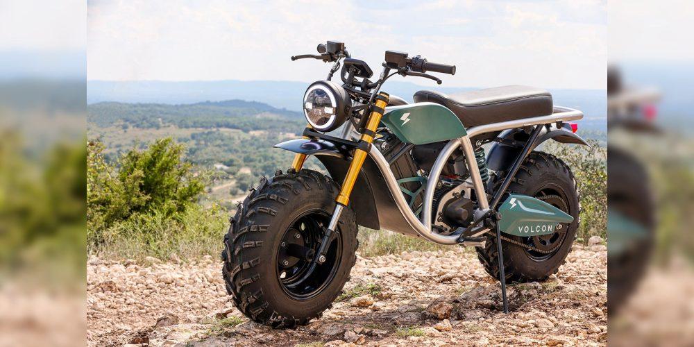 Motocicleta eléctrica Volcon Growl