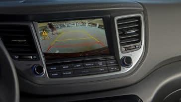 2017 Hyundai Tucson rearview camera