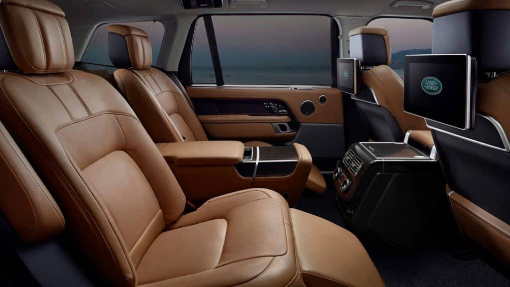 Asiento trasero del Land Rover Range Rover 2020