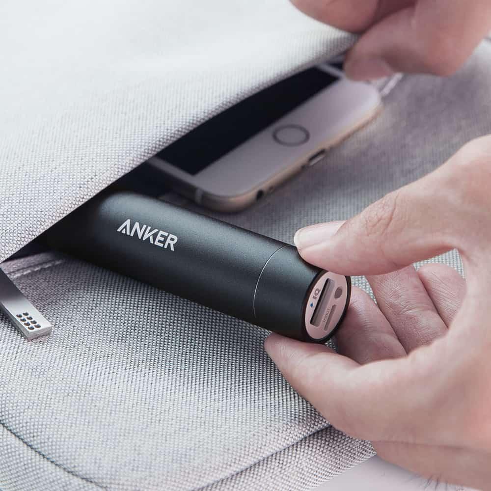 Mini cargador de teléfono portátil Anker