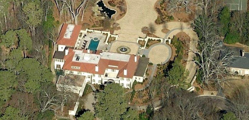 Casa de Arthur Blank Atlanta