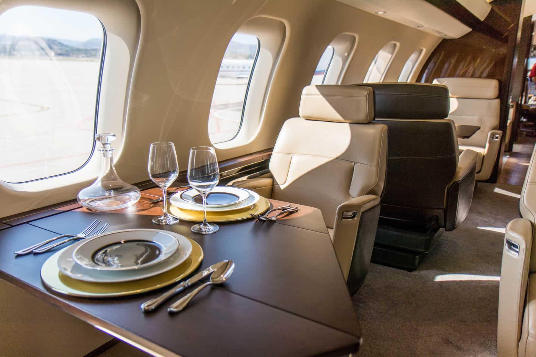 Suite club Bombardier Global 7500
