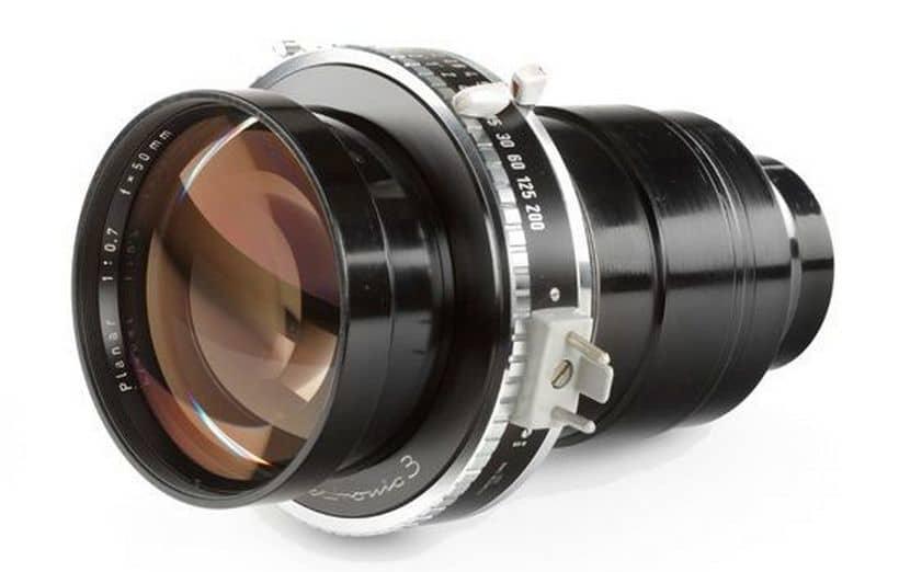Carl Zeiss Planar de 50 mm F / 0,7