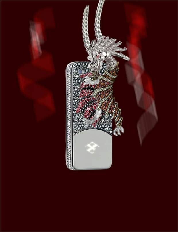 Dragon and Spider Phone Case 1