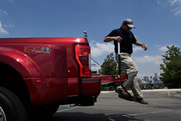 Ford F Series Super Duty trucks towing capcity