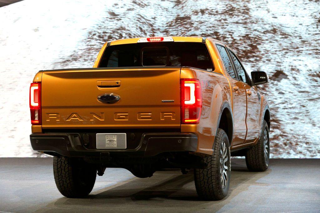 La Ford Ranger 2019 en el Salón Internacional del Automóvil de América del Norte