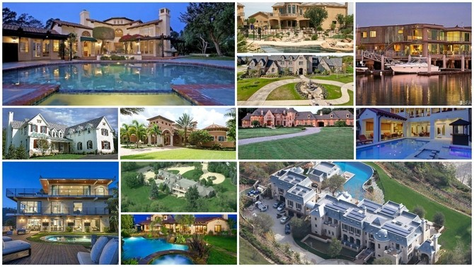 Incredible Homes of NFL Players