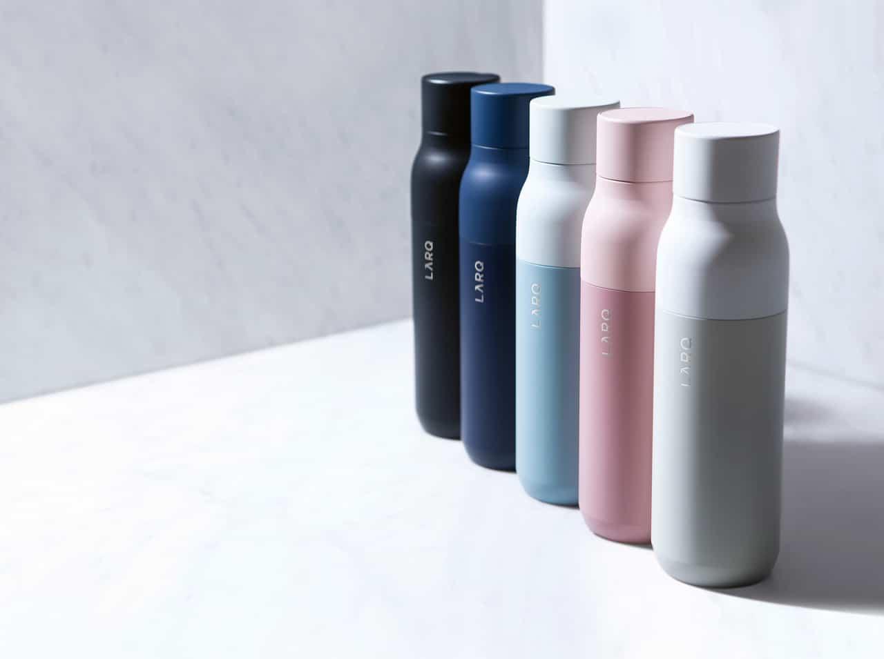 Botella de agua autolimpiante LARQ